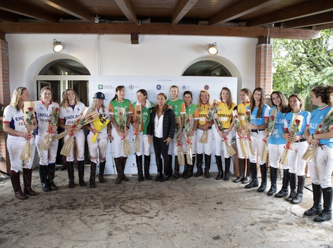 Siegerehrung EM Ladies 2021 (FIP Polo)